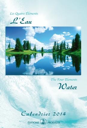 Calendrier 2014 : « Les Quatre Eléments - L'Eau »