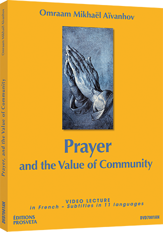 Prayer  and  the Value of  Community - DVD NTSC