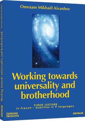 Working towards universality and brotherhood - DVD NTSC