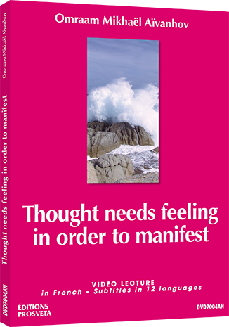 Thought needs feeling in order to manifest - DVD NTSC