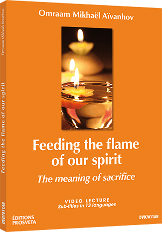 Feeding the flame of our spirit - The meaning of sacrifice - DVD PAL
